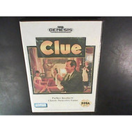 Clue For Sega Genesis Vintage Board Games - EE700119