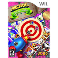 Arcade Shooting Gallery For Wii Shooter With Manual and Case - EE700817
