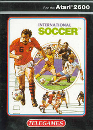 International Soccer For Atari Vintage Arcade - EE701278