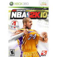 NBA 2K10 For Xbox 360 Basketball - EE701295