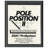 7800 Video Game Cartridge Pole Position II For Atari Vintage - EE701383