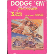 Dodge 'Em For Atari Vintage - EE701384