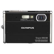 Olympus Stylus 1050SW 10.1MP Digital Camera With 3X Optical Zoom Black - EE702519