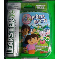 Leapster Learning Game System Cartridge Of Dora The Explorer Pinata - EE703060