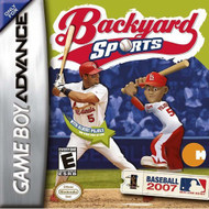 Backyard Sports Baseball 2007 For GBA Gameboy Advance - EE703106