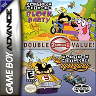 Cartoon Network 2 In 1 Block Party And Speedway GBA For GBA Gameboy - EE703881