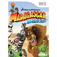 Madagascar Kartz For Wii Flight With Manual and Case - EE703987