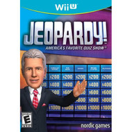 Jeopardy For Wii U Trivia With Manual and Case - EE704064