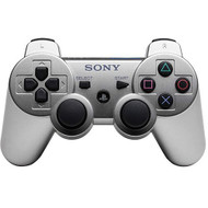 Sony OEM Dualshock 3 Wireless Controller Satin Silver For PlayStation  - EE704100