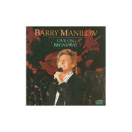 Live On Broadway By Barry Manilow On Audio CD Album 1990 - EE704305