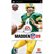 Madden NFL 09 Sony For PSP UMD Football With Manual and Case - EE704770