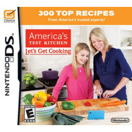 America's Test Kitchen: Let's Get Cooking For Nintendo DS DSi 3DS 2DS - EE704807