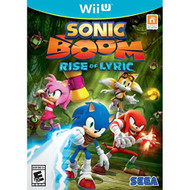 Sonic Boom: Rise Of Lyric For Wii U With Manual And Case - EE704824