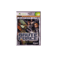Brute Force For Xbox Original Shooter With Manual and Case - EE705297