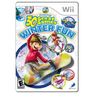 Family Party Winter Fun For Wii Arcade With Manual and Case - EE705647