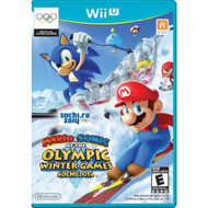 Mario And Sonic At The Sochi 2014 Olympic Winter Games For Wii U With - EE705778