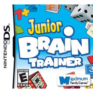 Junior Brain Trainer For Nintendo DS DSi 3DS 2DS Puzzle With Manual - EE705901