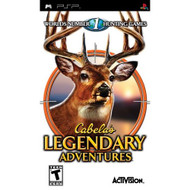 Cabela's Legendary Adventures Sony For PSP UMD Shooter With Manual And - EE706205