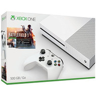 Xbox One S 500GB Console Battlefield 1 Extra White Controller Bundle - ZZ707088
