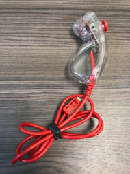 Red And Clear Nunchuck Wired For Wii Multi-Color Gamepad OWZ086 - EE707183