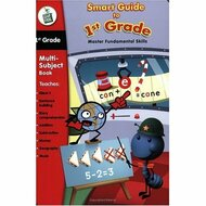 Leapfrog LeapPad Educational Book: Smart Guide To 1st Grade For Leap - EE707619
