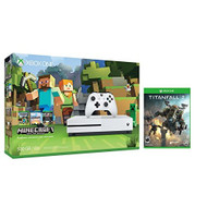 Xbox One S Console Bundle Xbox One S 500GB Console Minecraft Titanfall - ZZ707980