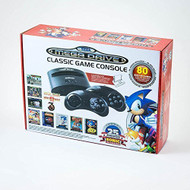 Atgames Sega Genesis Classic Game Console Black Home GBF448 - EE707984