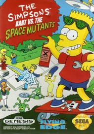Simpsons: Bart Vs The Space Mutants For Sega Genesis Vintage - EE708036