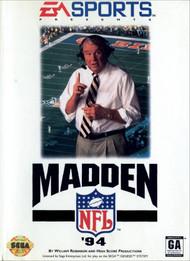 Madden NFL '94 For Sega Genesis Vintage Football - EE708050