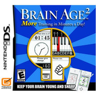Brain Age 2: More Training In Minutes A Day For Nintendo DS DSi 3DS  - EE708130