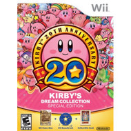 Kirby's Dream Collection: Special Edition For Wii With Manual and Case - EE708608
