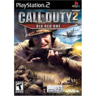 Call Of Duty 2: Big Red One For PlayStation 2 PS2 COD With Manual and - EE708619
