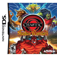 Chaotic: Shadow Warriors For Nintendo DS DSi 3DS 2DS Strategy With - EE708705