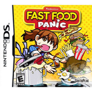 Fast Food Panic For Nintendo DS DSi 3DS 2DS With Manual and Case - EE708708