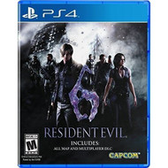 Resident Evil 6 For PlayStation 4 PS4 Fighting - EE708836