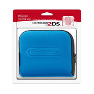 Nintendo 2DS Carrying Case For 3DS Blue Pouch - EE708996