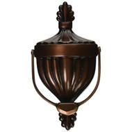 Victorian Urn Door Knocker Oiled Bronze Premium Size - EE709272