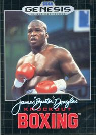 """James Buster"""" Douglas Knockout Boxing For Sega Genesis Vintage - EE709285"""