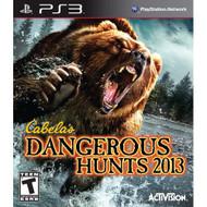 Cabela's Dangerous Hunts 2013 For PlayStation 3 PS3 Shooter - EE709325