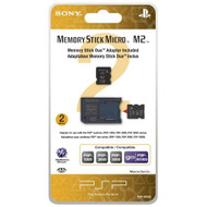 2GB Memory Stick Micro Media M2 Duo Adaptor Sony For GBA Gameboy - EE709607