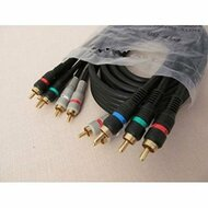 Bpi Broadband Component HDTV Patch Cable 5 Conductor Rca-Rca 6 Feet TV - EE709744