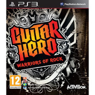 Guitar Hero: Warriors Of Rock Stand-Alone Software For PlayStation 3 - EE709820