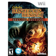 Cabela's Dangerous Hunts 2011 Special Edition For Wii Shooter With - EE710462