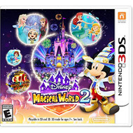 Disney Magical World 2 Nintendo For 3DS With Manual and Case - EE710511