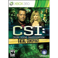 CSI: Fatal Conspiracy For Xbox 360 - EE710518