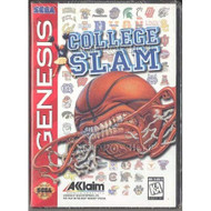 College Slam Sega Genesis For Sega Genesis Vintage Basketball With - EE710582