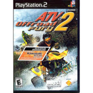 ATV Offroad Fury 2 For PlayStation 2 PS2 Racing With Manual and Case - EE587785