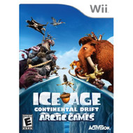 Ice Age: Continental Drift Arctic Games For Wii With Manual and Case - EE710709