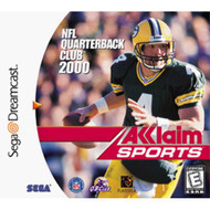 NFL Qb Club 2000 DC For Sega Dreamcast Football With Manual and Case - EE710735