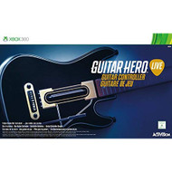 Guitar Hero Live Guitar Controller No Game Included For Xbox 360 Multi - EE710780